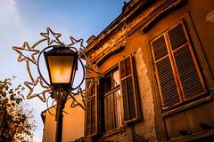 Street with soul (Master Iksi) Tags: street building oldstreet oldhouse oldbuildings lantern sky beograd belgrade srbija serbia canon 700d outdoor sidewalk