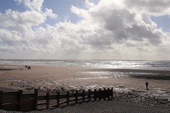The Irish Sea at St Bees (Cumbria, England). (RW-V) Tags: canoneos70d canonefs24mmf28stm irishsea stbees cumbria england uk sea coast beach shore c2c greatbritain hiking coasttocoast 80faves 100faves 120faves 150faves 175faves 200faves 225faves