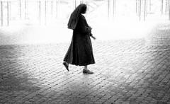 Nun on her way to the monastery B&W (matwolf) Tags: nonne nun kloster monastery walk people rom rome monochrome street streetphotography bw blackandwhite black blanc blackwhite noiretblanc ngc noir noirblanc schwarz schwarzweis