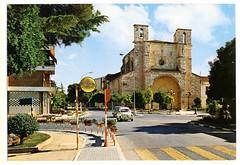 Guadalajara:  Iglesia de San Ginés = St. Gines Church = Eglise de St. Ginés (Centro de Estudios de Castilla-La Mancha (UCLM)) Tags: guadalajara iglesias churchs años60 sixties seat600 cars tarjetaspostales postcards