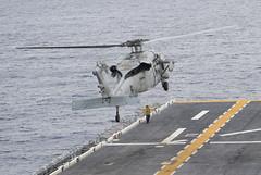 161006-N-JS726-083 (U.S. Pacific Fleet) Tags: navy marines amphibiousassault southchinasea bonhommerichard hsc25 seahawk expeditionarystrikegroup underway deployment military