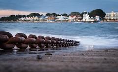 Heavy duty chain (brianmiller006) Tags: ferry harbour transport sandbanks seashore