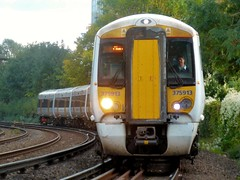 375913 and 375 number 927 Hastings to Charing Cross 1H64 (train_photos) Tags: 375913 electrostar southeastern hastings charingcross diversion