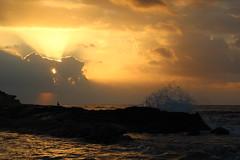 Amanecer en la costa (alexsv92) Tags: