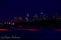 Vancouver at night (Syd Rahman) Tags: bc beach brithishcolumbia caladaplace canada cloude dslr districkofwestvancouver harborcentervancouver iso lionsgatebridge meetupgroup nikon nikond7000 photowalk shawtower stanleypark summer sunnyday sunset syd sydrahman sydur sydurrahman views vnaouvernightowlphotography westvancouver water amblesidebeach ambleside followme today travel explorebc britishcolumbia beautifulbc explorevancouver veryvancouver georgiastraight dailyhivevan vancouverisawesome vancouver vancouverlife vancity vancitylove vancouverbound meetup