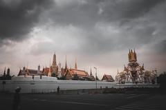 """"""" GRAND PALACE """" (suwaparnjaruchaisittikul) Tags: grandpalace cloud bangkok thailand capital city"""