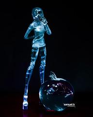 Cyborg (saaaa_muel) Tags: 3a threea ashleywood toy toys toyphotography 7174 pascha isobelle cybrog crystal clear apple