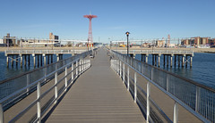 Filming Location Requeim for a Dream , The Pier Where you See Harry. Q Train to Coney Island New York November 2016  (10) (Richie Wisbey) Tags: requiem for dream filming location harry pier sequence coney island beach brooklyn new york q train stillwell avenue