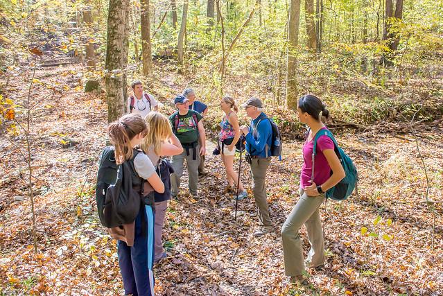 Hoosier National Forest - Pate Hollow - Sierra Club Hike - October 29, 2016