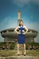 Buzludzha (sfabisuk) Tags: buzludzha model girl travel explore bulgaria