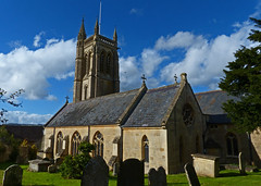 Bathford, Somerset, St Swithun (Tudor Barlow) Tags: bathford somerset england churches parishchurch listedbuilding somersetchurches autumn lumixfz200 preedy frederickpreedy 1870
