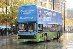Roadshow Promotions H136 GVM (SelmerOrSelnec) Tags: roadshowpromotions dennis dominator northerncounties h136gvm liverpoolhopeuniversity manchester piccadilly exhiunit gmbuses bus
