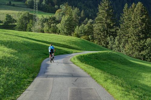 Abfahrt vom Schloss Groppenstein
