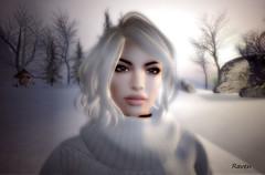 Winter Portrait November 2016 (| Raven |) Tags: sl second life ravi ravishing artworks winter portrait