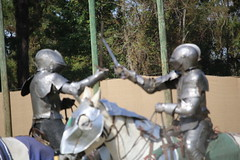 IMG_4750 (joyannmadd) Tags: renaissance hammond louisiana festival jousting birds prey celtic queens kings laren fest juggler washing well wenches wiskey bay rovers music midevil combat horse war fight armour joust dual knives knight shining run outdoor competition