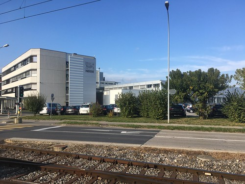 Nestle plant at Orbe