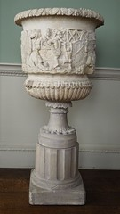 PA171036 (simonrwilkinson) Tags: kedlestonhall derbyshire nationaltrust familycorridor classical urn