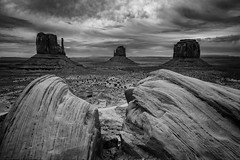 Monument Valley, Navajo Tribal Park (www.arayphoto.com) Tags: blackandwhite bw southwest landscape park navajo arizona utah desert valley monument