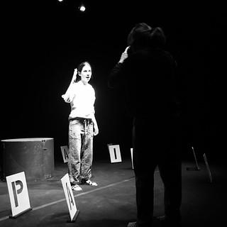 """-1 al debutto de """"Lo schifo - Omicidio non casuale di Ilaria Alpi nella nostra ventunesima regione"""" #teatrobresci #theaterlife #theatrelife #ilariaalpi"""