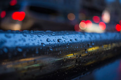 Rainy day (marcos_casado90) Tags: reflejos reflections gotas drops waterdrops water canon madrid spain night noche light luces macro bokeh