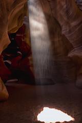 Arizona - Antelope Canyon (NikonD3xuser1(Thanks for 1.6 million visits)) Tags: usa arizona page antelopecanyon light rocks beam sand canyon nikon