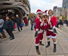 DSC_0999 (critter) Tags: santacon2016 santacon santa bean cloudgate millenniumpark christmas pubcrawl caroling chicago chicagosantacon artinstituteofchicago
