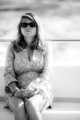 Cruising in Puerto Vallarta (Thomas Hawk) Tags: cruise julia juliapeterson lillypulitzer mexico puertovallarta boat bw mrsth spouse sunglasses vacation water wife fav10 fav25 fav50