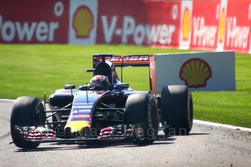 Max Verstappen in Free Practice 1 at the 2015 Belgian Grand Prix