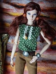 Heartfeathers (Levitation_inc.) Tags: face fashion toys design model doll native nu handmade ooak barbie levitation muse clothes fantasy poppy fashionista ethnic fr royalty parker integrity fr2 nuface