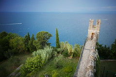 Piran Walls, Slovenia (andrewobrien2) Tags: sea water mediterranean panasonic slovenia piran peninsula adriatic istria istrian lx100