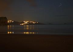Nightshot of Toquay from Goodrington (Dom O'Neill) Tags: reflection beach night stars lights devon sands torquay scape paignton niht goodrington