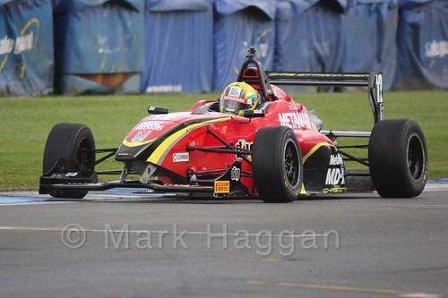 Chris Dittmann Racing's Tom Jackson in BRDC F4 at Donington Park, September 2015