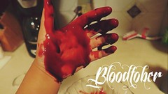 Bloodtober (maryrosebase) Tags: canon hand september fakeblood 2015 bloodtober