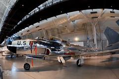 Lockheed T-33A-5-LO Shooting Star (raphaelbrescia) Tags: museum virginia smithsonian museu aviation hangar boeing hazy chantilly udvar