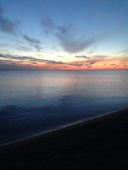 Sunset (denny2609) Tags: sunset sea black crimea     saky