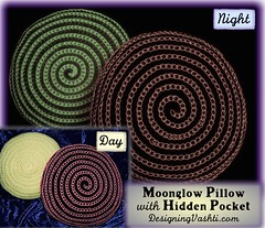 (vashtirama) Tags: spiral glow embroidery crochet pillow glowinthedark jelly glowing pocket tambour jy mydesign 2015 secretpocket jellyyarn stashpocket slipstitchcrochet pantystasher surfaceslipstitch