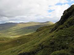 Creag Mhor and Beinn Heasgarnich from ascent to Meal Glas (ancanchaWH) Tags: highlands walk mhor beinn creag heasgarnich