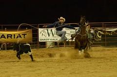 Flying Roper (Get The Flick) Tags: rodeo roper madisongeorgia tiedownroping tiedownroper morgancountyga georgiahighschoolrodeo