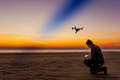 IMG_1683 (Charlie Waltho) Tags: sunset sky reflection beach wales landscape 1 colours inspire broth djr drone nothdr