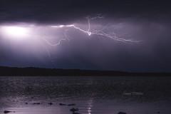 Feeling the Temp. (Jason Whittle Photography) Tags: seascape storm reflection water stormy strike sa lightning southaustralia strikes longexposer portlincoln eyrepeninsula