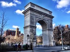 Washington Square Arch, New York City (twiga_swala) Tags: washington square sq arch triumphal greenwich village manhattan nyc new york city downtown usa america american architecture