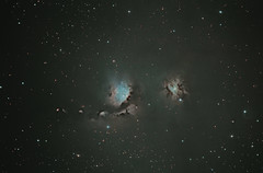 M78 (Jammie Thouin) Tags: canon eos massachusetts astro telescope astrophotography orion t3 messier 78 complex ashfield molecular cluod m78 1100d