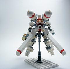 Long-range Zero G Strike Pack (Jay Biquadrate) Tags: lego frame mecha mech moc microscale mfz mf0 mobileframezero