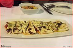 Queso frito con tomate - Mesón El Granaino (LosComensales.es) Tags: adobo calamar almejas