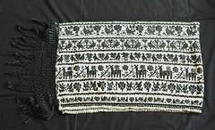 Otomi Rebozo Toluca Mexico Almoloya del Rio (Teyacapan) Tags: animals mexico embroidery mexican shawl textiles toluca bordados otomi rebozos