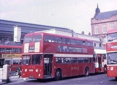 RRN411 (21c101) Tags: 1969 manchester 1962 leyland ribble metrocammell leylandatlantean lowermosleystreet pdr11 rrn411