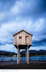 Light Shed, a sculpture by artist Liz Magor located on the waterfront in Harbour Green Park in Vancouver, British Columbia (Vincent Demers - vincentphoto.com) Tags: sculpture canada art vancouver bc waterfront harbour britishcolumbia northamerica publicart coalharbour artinstallation publicartinstallation colombiebritannique harbourgreenpark