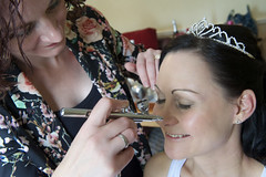 """Bride make-up • <a style=""""font-size:0.8em;"""" href=""""http://www.flickr.com/photos/36560483@N04/23168325624/"""" target=""""_blank"""">View on Flickr</a>"""