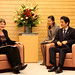 Helen Clark's mission to Japan on 23-25 November 2015 and a lecture at Keio University