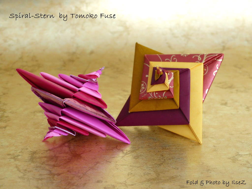The Worlds Best Photos Of Origami And Tomokofuse Flickr Hive Mind Tomoko Fuse Diagrams Spiral Stern By Esli24 Tags Christmas Festive Star Seasongreetings Origamistar